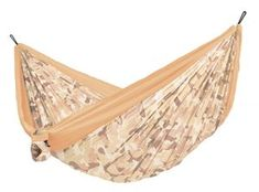 LA SIESTA Colibri 3 Camo Sahara Fabric Hammock at Lowe's. Small, light, brightly coloured - with the Colibri travel hammock you can create your own personal oasis of well-being everywhere, whether on the road or