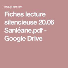 Fiches lecture silencieuse 20.06 Sanléane.pdf - GoogleDrive