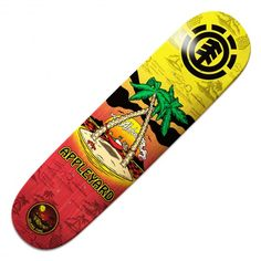 ELEMENT Appleyard Island Time planche de skate pro 8 pouces 65,00 € #skate #skateboard #skateboarding #streetshop #skateshop @playskateshop Skate 4, Skate Shop, Skate Decks, Skateboard Decks, Street Shop, Skate And Destroy, Skateboards, Island, Play