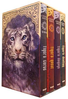 The Tiger's Curse Saga by Colleen Houck ~ Oh my...Words cannot express how in love I am with this series! <3 It's definitely on my list of favorites! I think it might even beat Morganville for the #1 spot!!!