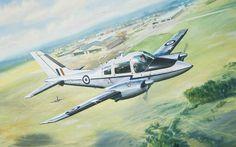 Beagle Basset CC Mk.1 XX766 of 26Sqn RAF Airfix box art by Roy Cross