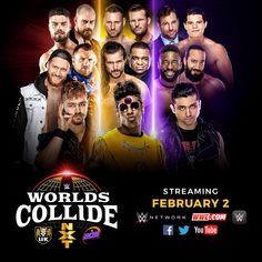 Worlds Collide Discussion - WWE Universe Adam Cole, Wwe Pay Per View, Battle Royal, Superstar, How To Become, Champion, Give It To Me, World, Youtube