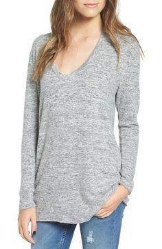 Main Image - BP. V-Neck Long Sleeve Sweater