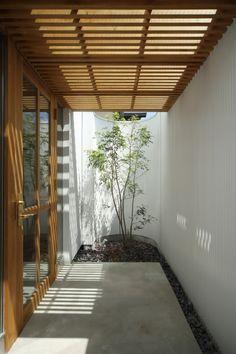 Small Backyard Gardens, Backyard Garden Design, Backyard Patio, Terrace Design, Yard Design, House Design, Home Building Design, Outside Living, Interior Garden