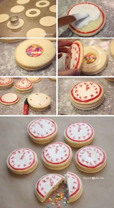 Make Confetti Cookies PLUS 6 other New Year's Eve party ideas