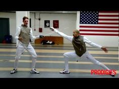 How To Fence: The Basics of Fencing, Taught by Olympians Miles & Race