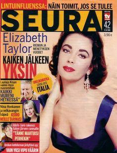 Elizabeth Taylor - Seura Magazine [Finland] (21 October 2005)