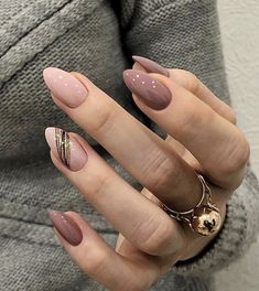 Classic And Beautiful Almond Nails Suitable For Both Spring And Summer - Page 2 of 8 - Vida Joven designs for short nails Almond Acrylic Nails, Best Acrylic Nails, Almond Nail Art, Classy Nails, Stylish Nails, Classy Almond Nails, Chic Nails, Almond Shape Nails, Sophisticated Nails