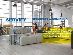 Tu plataforma de #servicios a #domicilio online donde puedes ofrecer o encontrar los mejores servicios con recomendaciones y cuando tú quieras. www.servify.es