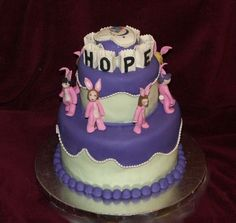 Relay for Life Cake from Cake Central :)