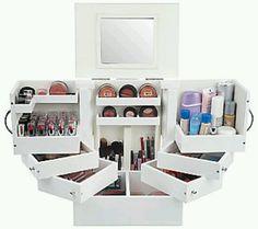I want this so bad: Lori griener makeup organizer $80
