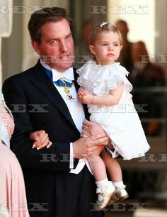 The wedding of Prince Carl Philip and Sofia Hellqvist, Royal Palace, Stockholm, Sweden - 13 Jun 2015 Christopher O'Neill and Princess Leonore 13 Jun 2015