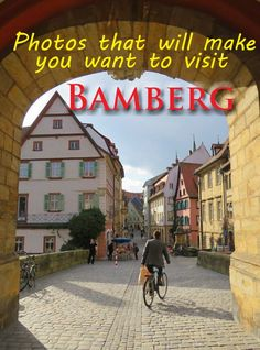 Views through the arch of the Rathous, Bamberg. #bamberg #germany