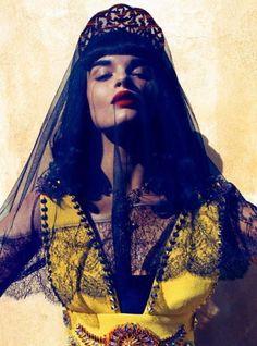 Cystal Renn does Vogue Japan