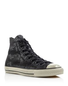 Converse All Star Hi Top Painted Leather Sneakers
