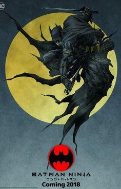 The Batman Ninja Anime Shows a Dark Knight We've Never Seen Before Batman Ninja, Im Batman, Batman Story, Ninja Art, Comics Anime, Bd Comics, Batman The Dark Knight, Nightwing, Batgirl