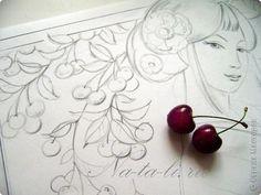 Ня картинки - батик рисунки эскизы - Няшки