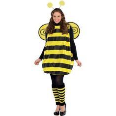 Fancy Dress Costume Over the Knee Stripe Socks Halloween Candy Bee School Dance