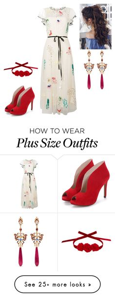 """jiu"" by pianistrikjo on Polyvore featuring RED Valentino, Diego Percossi Papi and Vjera Vilicnik"