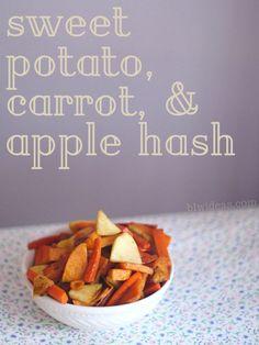 Sweet Potato, Carrot