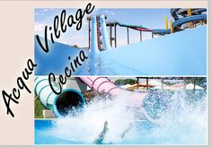 Acqua Village Park, in Cecina (Livorno), Via Tevere 25; June 13-Sept. 7, 2015, 10 a.m. to 6 p.m.; one of the main attractions is the Intrigo super slide, winner of the Awards Parksmania 2011; there are also a variety of swimming pools with in¬teractive water games, water massage, a playground with slides, waterfalls, an aqua bubble, a children's pool with two small slides, and a wave pool with animation and games; for prices and more details, visit…