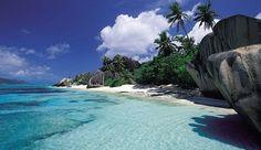 Isla de La Digue en las Seychelles