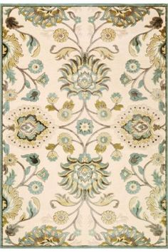 A delicate, sparse take on a traditional design...Love the colors!