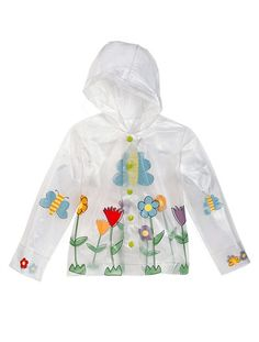 I have been looking everywhere for a transparent rain jacket for my daughter! Love it!