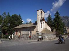 Historic Church of Santa Barbara in Bormio, Lombardy, Italy.  #ToHellAndBack #MariaRosaAuthor #church #SantaBarbara #travel #photography #architecture #Bormio #Lombardy #Italy #history