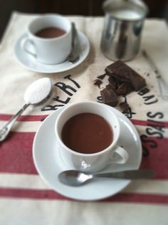 When I was in Italy I remember the thickest, richest, hot chocolate and this recipe unlocks the secret.