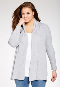 ebc340f2a9c Try our rib knit cardigan with the pretty