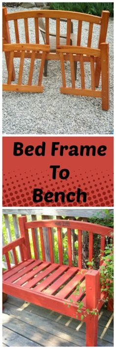 Bed Frame Bench | Saving 4 Six
