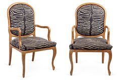 Italian Armchairs, Pair on OneKingsLane.com