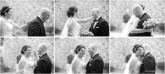 First sight of bride before the wedding | Buffalo NY Wedding | www.knightstudio.com | Tiffany Answeeney