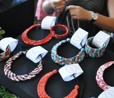 Coalesced. textile jewellery | About