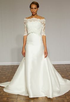 Our Favorite Looks From NYC Bridal Fashion Week Spring 2015