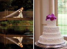 Christine Gennaro Weds Brian Meberg at Pleasantdale Chateau • Cake: Pleasantdale Chateau • New Jersey Bride Real Weddings • http://www.newjerseybride.com/realweddings/christine-gennaro-brian-meberg/