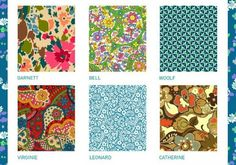 Liberty Art Fabrics Lifestyle Collection, Bloomsbury Gardens, premiering at spring 2013 quilt market. Want to see Bell in person.