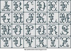 Free Easy Cross, Pattern Maker, PCStitch Charts + Free Historic Old Pattern Books: Sajou No 654