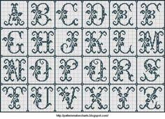 Free Easy Cross, Pattern Maker, PCStitch Charts + Free Historic Old Pattern Books: Sajou No 654