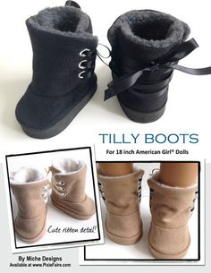 Tilly Boots Pattern from Miche Designs