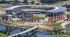BAYLOR UNIVERSITY WACO TEXAS--NEW STADIUM