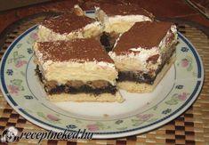 Hungarian Recipes, Hungarian Food, Something Sweet, Sweet And Salty, Tiramisu, Goodies, Food And Drink, Yummy Food, Sweets