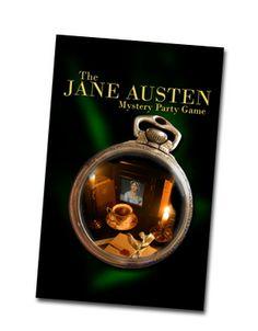 jane austen party ideas | Jane Austen Murder Mystery Party Game KFT65 | eBay