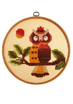 owl cross stitch...