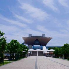 2016JPCAで東京ビッグサイトに到着 #イベント #JPCA Show #ラージエレクトロニクスショー #のせる つなぐ つくる #お台場 #スクリーン印刷 #ウエアラブル基板 #高精細ステンレスメッシュ #IoT by konjicho