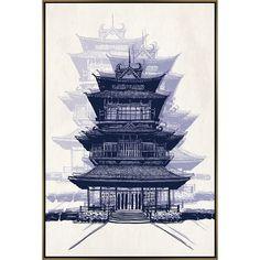 CR Laine : Pagoda Area