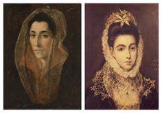 El Greco Collection III (woman portrait)
