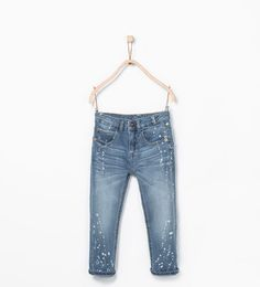 Speckled jeans from Zara Boys