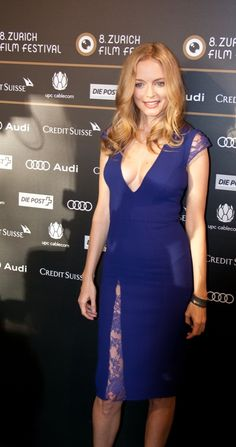 The Zurich Film Festival presents the most promising new filmmakers from around the globe and promotes the exchange of ideas between established film workers, creative talent and the public. Heather Graham, Festival Fashion, Film Festival, Audi, Beautiful Ladies, American Actress, Actresses, Hot, Movie